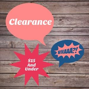 Other - $15 and under Clearance Items!